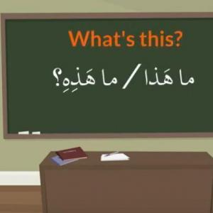 Arabic Demonstratives اسم الإشارة